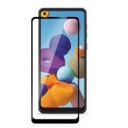 Pelicula de vidro temperado 5D preta Samsung Galaxy A21
