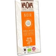 Ciocolata neagra 55% cu portocale BIO 100g Kaoka
