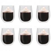 vidaXL Double Wall Tea Glasses 6 pcs 320 ml