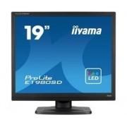 """IIYAMA 19"""" LCD iiyama ProLite E1980SD -5ms,5:4,DVI,ECO"""