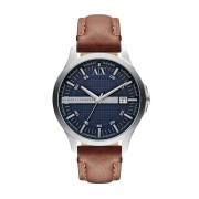 Armani Exchange Men's Leather Watch - AX2133 (Brown)