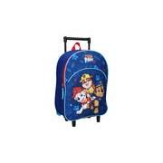 Paw Patrol blauwe trolley/reiskoffer rugtas voor kinderen