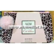 Naomi Campbell Cat Deluxe ajandékcsomag ( edt 15ml + neszeszer )