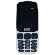 MTR MT 105 (Dual SIm 1.8 Inch Display 800 Mah Battery White)