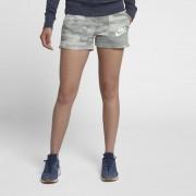 Nike Gym Vintage Camo-Shorts für Damen - Grau