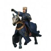 Figurina Cavaler Rege Albastru cu cal Simba Toys