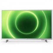 Телевизор PHILIPS 43 инча, Full HD LED, Smart, Сив, 43PFS6855/12