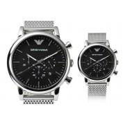 Emporio Armani Men's Mesh Chronograph Watch
