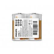Philips R14L2F/10 - 2 buc Baterie clorura de zinc C LONGLIFE 1,5V