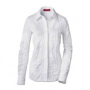 Embroidered Cambric Blouse, White, 18 - White