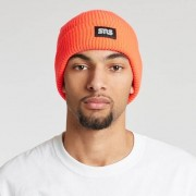 Sns Shaker Knit Beanie Infrared