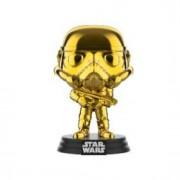 Pop! Vinyl Star Wars - Stormtrooper Oro Cromato Figura Pop! Vinyl Esclusiva