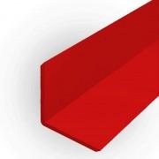 Cantoneira em ps ou pvc 13 mm x 13 mm para acabamento de placas e painéis Branco