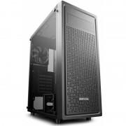 Carcasa E-SHIELD, Tempered Glass, MiddleTower, Fara sursa, Negru