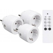Telldus On/off mottagare plug-in 433mhz 3680W 3-pack