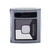 BOURJOIS Paris Smoky Stories Quad Eyeshadow Palette palette di ombretti 3,2 g tonalità 01 Grey & Night donna