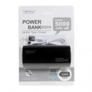 Acumulator Extern Huawei Samsung HTC Nokia iPhone BlackBerry Sony iPad iPod LG LEYOU Power Bank 5000mAh Negru