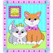 Set 2 tablouri Galt cu pisicute, peste 600 de paiete
