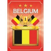 Shoppartners Poster Belgie zwart geel en rood