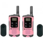 Motorola PMR rádió rózsaszín 2 db LKR T41 P14MAA03A1BN PMR T41, Motorola (1381798)