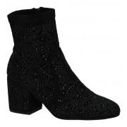 Alma en Pena Zwarte Korte Laarzen