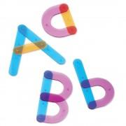 Joc interactiv Sa construim alfabetul Learning Resources, 60 piese, 13 carduri cu activitati