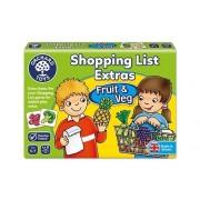 Joc in limba engleza Lista de cumparaturi Fructe si legume