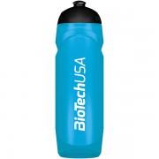 Športová fľaša azúrová modrá priesvitná BioTech USA 750ml