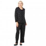 Carole Hochman Completo misto cotone: cardigan, canotta, pantaloni