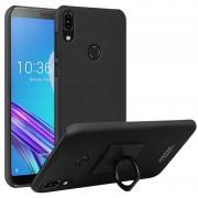 Imak Matte Ring Asus Zenfone Max Pro (M1) Case - Black