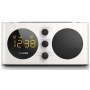 Radio cu ceas Philips AJ6000 (Alb/Negru)