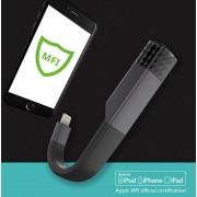 Devia Explorer MFI USB 3.0 Lightning Drive 64GB - външна памет USB 3.0 за iPhone, iPad, iPod с Lightning (64GB) (черен)