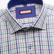 Bărbați cămașă slim fit Willsoor 2194