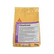 Chit pentru rosturi Sika Ceram Clean Grout light grey 5 kg
