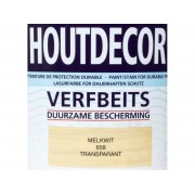 Hermadix Houtdecor verfbeits Melkwit transparant
