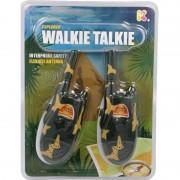 Set Walkie Talkie Micul Explorator, raza de actiune 200 m, 21 cm, 3 - 11 ani