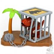 Silverlit Digidinos et Accessoires Asst Cage Playset - Multi Color