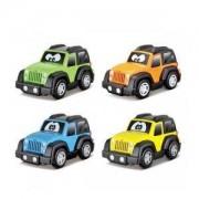 Детска играчка, Bburago Junior - Пластмасова количка Jeep, асортимент, 095041