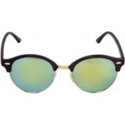 Laurels Oval Sunglasses(Multicolor)