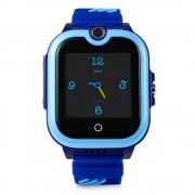 Ceas Inteligent pentru copii WONLEX KT13 4G Albastru, cu GPS, apelare video, rezistent la apa, localizare WiFI si monitorizare spion