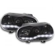 FK-Automotive faro luci di marcia diurna Daylight VW Golf 4 anno di costr. 97-03 nero