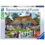 Puzzle Casuta In Anglia 1500 Piese Ravensburger
