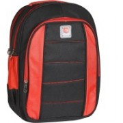 Classic Polyester School Bag |Shoulder Backpacks 36 L Laptop Backpack(Black)