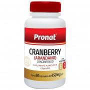 Cranberry Arándano Con Vitaminas E Y C Pronat 60 Cápsulas