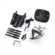 A6W RC FPV Wi-Fi Drone Angulo Ancho 720P HD Camera Altitude Hold Negro Quadcopter RTF
