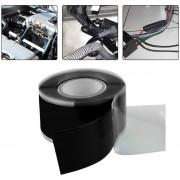 ER-Negro 3 M De Alta Presión De Caucho De Silicona Auto-adhesivo Impermeable Cinta De Aislamiento