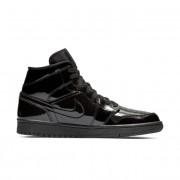Nike Sapatilhas Air Jordan 1 Mid para mulher - Preto