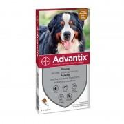 Bayer Advantix Spot on per Cani oltre 40kg fino a 60kg (4 pipette)
