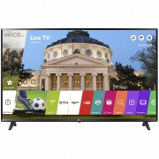 Televizor Smart LED LG 123 cm Full HD 49LJ594V, WiFi, USB, CI+, Black