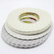 Fita adesiva de dupla face branca transparente 1.5mm, 3M, 50m